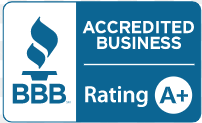 A + Rating with the Better Business Bureau
